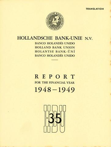 Hollandsche Bank-Unie 1948