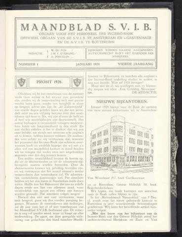 Incasso-Bank - Maandblad SVIB 1928
