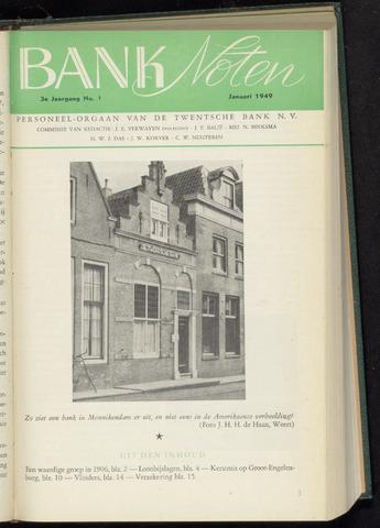 De Twentsche Bank - Banknoten 1949