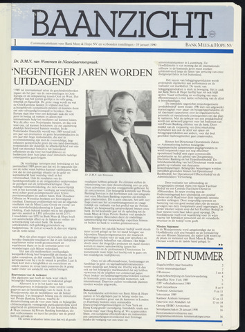 Bank Mees & Hope - Baanzicht 1990