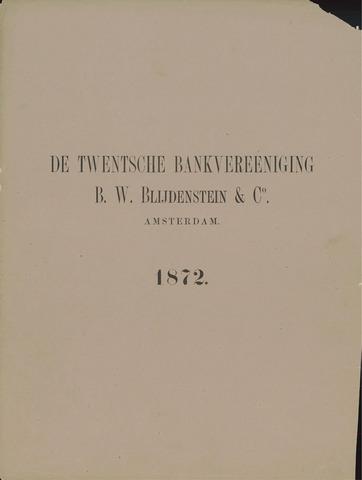 Twentsche Bank 1872