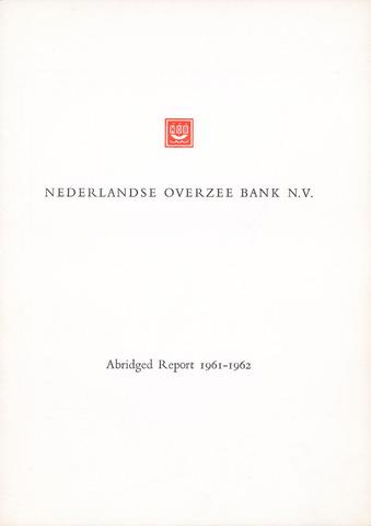 Nederlandse Overzee Bank 1961