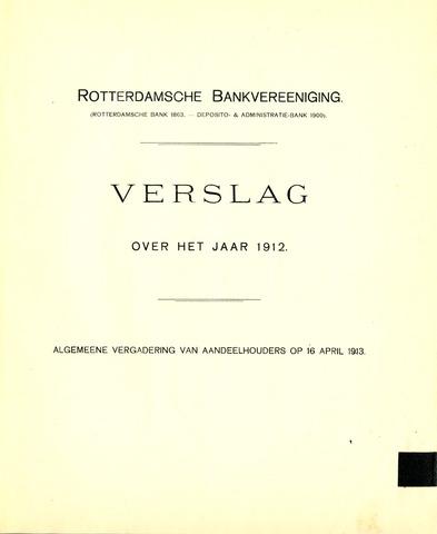 Rotterdamsche Bank 1912