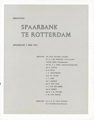 Spaarbank te Rotterdam 1957