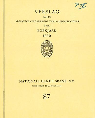 Nationale Handelsbank 1950