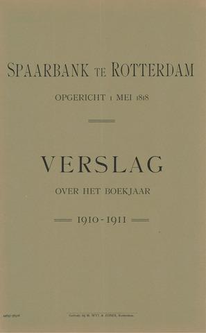 Spaarbank te Rotterdam 1910