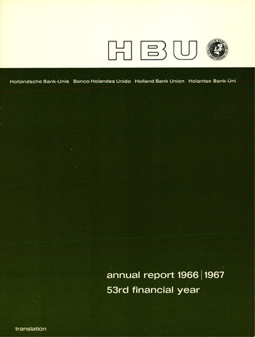 Hollandsche Bank-Unie 1966