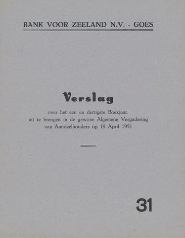 Bank voor Zeeland 1950