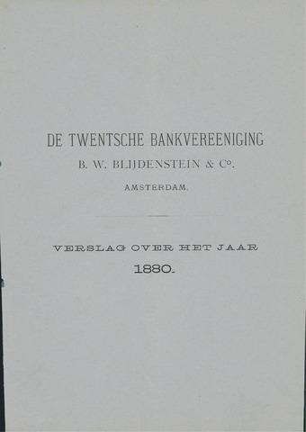 Twentsche Bank 1880