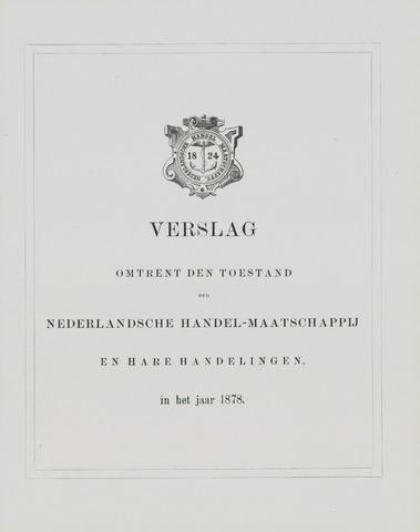 Nederlandsche Handel-Maatschappij 1878