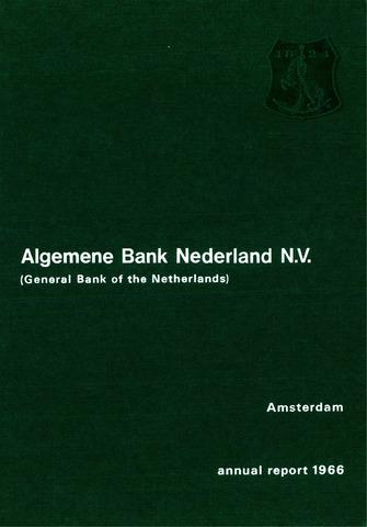 Algemene Bank Nederland 1966