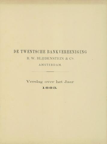 Twentsche Bank 1885