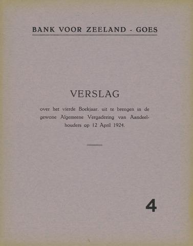 Bank voor Zeeland 1923