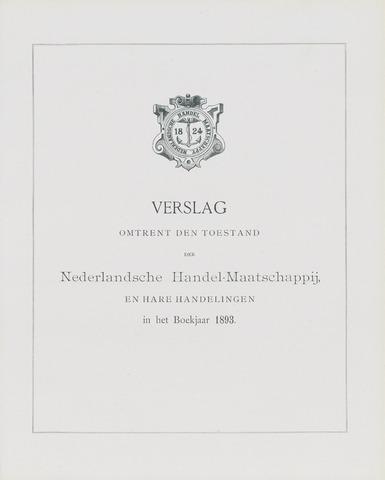 Nederlandsche Handel-Maatschappij 1893