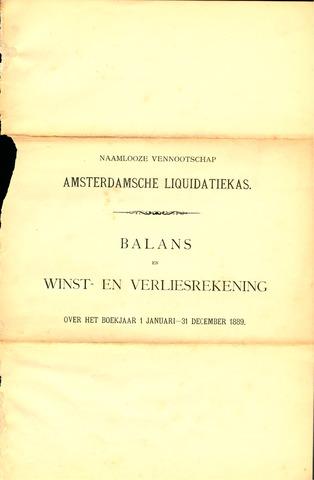 Amsterdamsche Liquidatiekas - Amsterdamsche Goederenbank 1889-01-01
