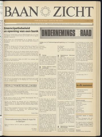 Bank Mees & Hope - Baanzicht 1980