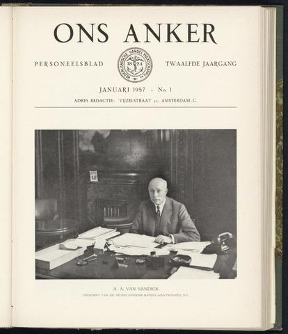 Nederlandsche Handel-Maatschappij - Ons Anker 1957