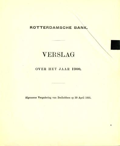 Rotterdamsche Bank 1900