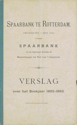 Spaarbank te Rotterdam 1892