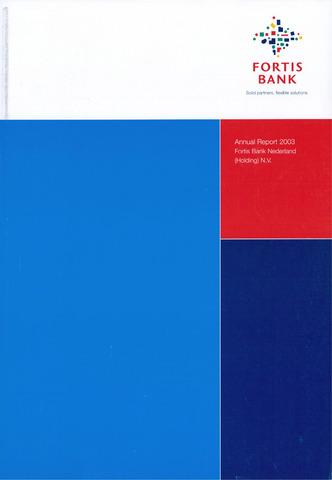 Fortis Bank Nederland 2003