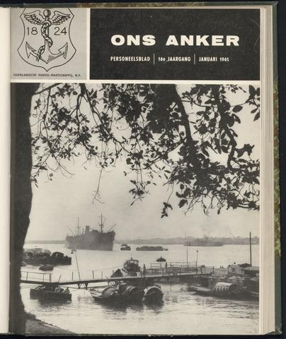 Nederlandsche Handel-Maatschappij - Ons Anker 1961