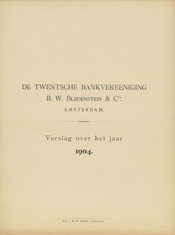 Twentsche Bank 1904