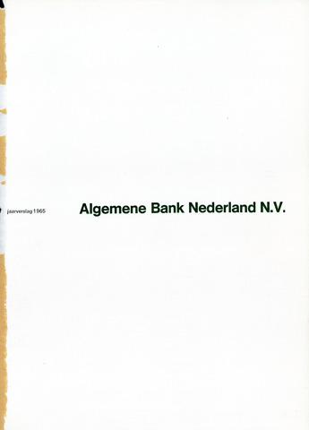 Algemene Bank Nederland 1965