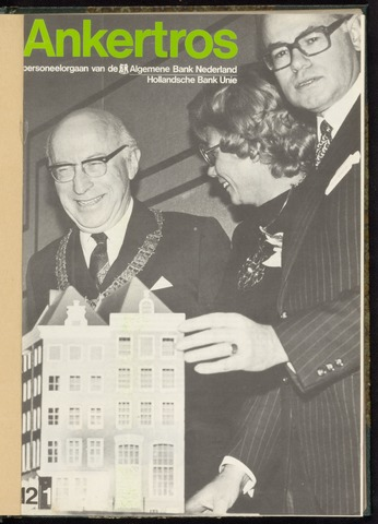 Algemene Bank Nederland - Ankertros 1974