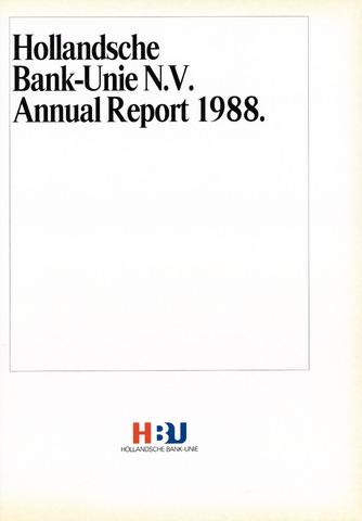Hollandsche Bank-Unie 1988