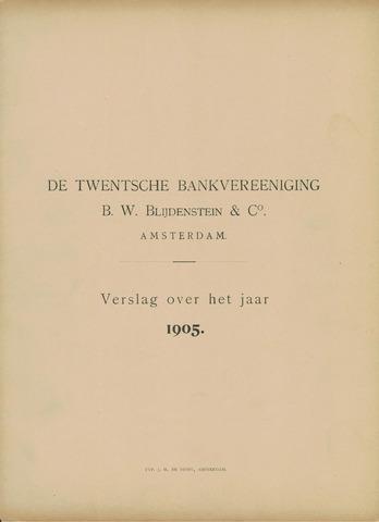 Twentsche Bank 1905