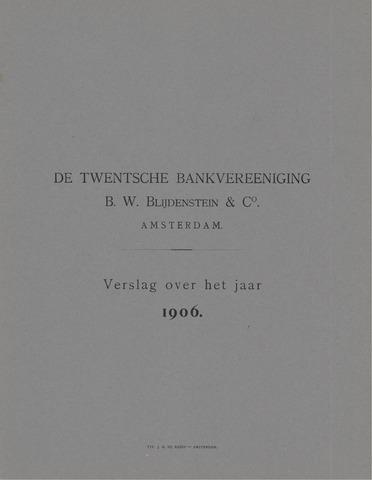 Twentsche Bank 1906