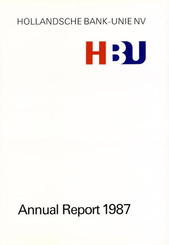 Hollandsche Bank-Unie 1987