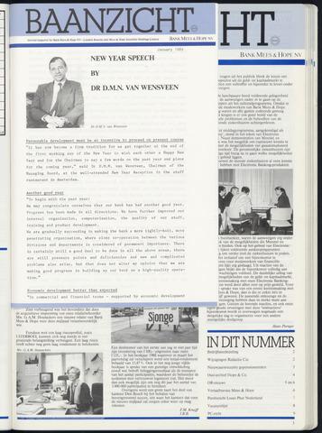 Bank Mees & Hope - Baanzicht 1989