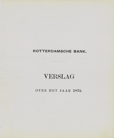 Rotterdamsche Bank 1875