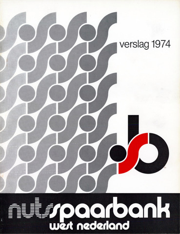 Nutsspaarbank West Nederland 1974