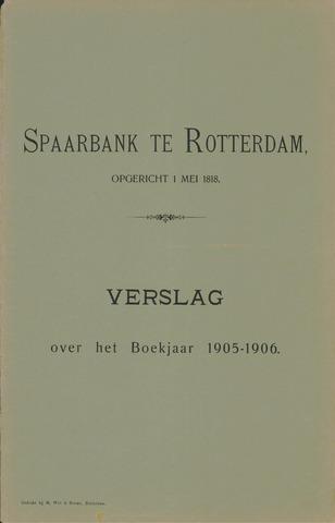 Spaarbank te Rotterdam 1905