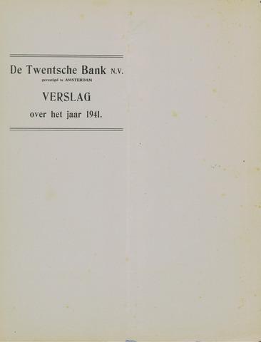 Twentsche Bank 1941