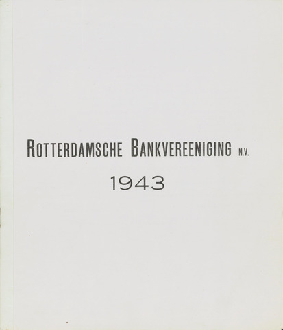 Rotterdamsche Bank 1943