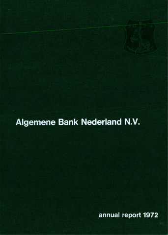 Algemene Bank Nederland 1972