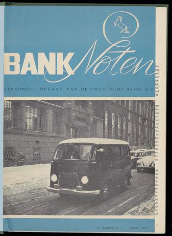 De Twentsche Bank - Banknoten 1963