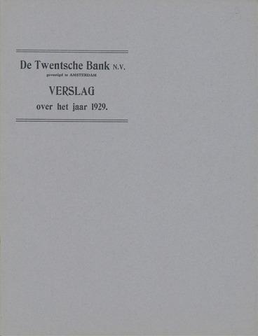 Twentsche Bank 1929