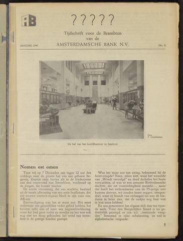 Amsterdamsche Bank - AB 1947