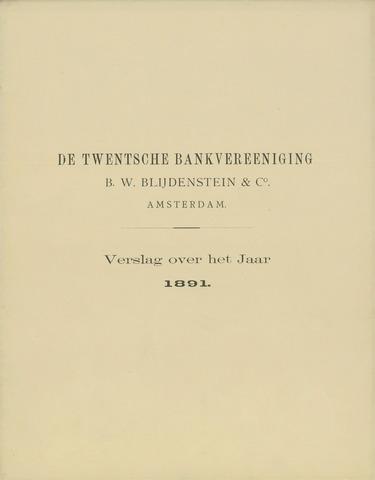 Twentsche Bank 1891