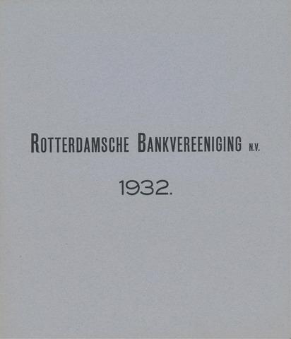 Rotterdamsche Bank 1932