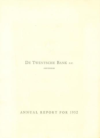 Twentsche Bank 1952