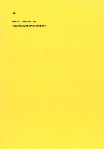 Hollandsche Bank-Unie 1991