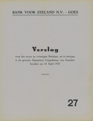 Bank voor Zeeland 1946