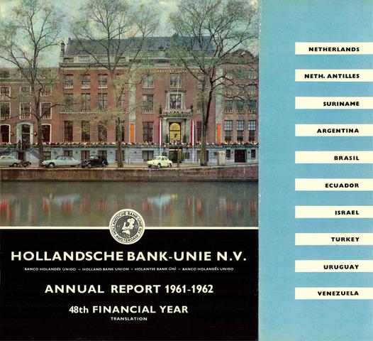 Hollandsche Bank-Unie 1961