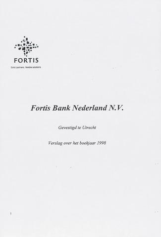 Fortis Bank Nederland 1998
