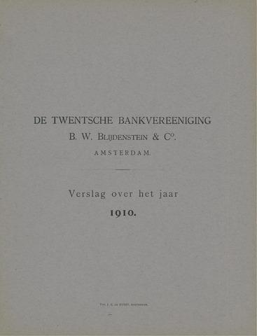 Twentsche Bank 1910